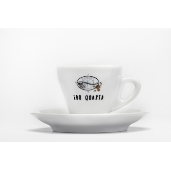 Set tazzine espresso con piattino Edo Quarta