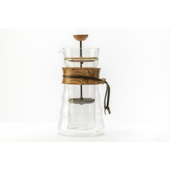 HARIO DGC-40-OV DOUBLE GLASS COFFEE