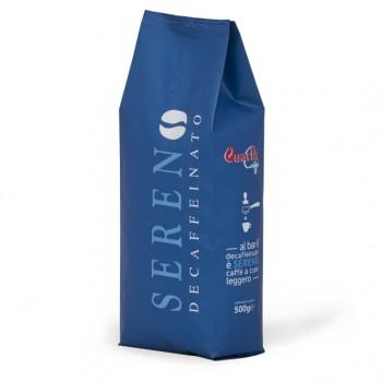 Quarta Caffè Miscela SERENO Decaffeinato - grani 500g