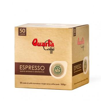 Quarta Caffè Cialde ESPRESSO 50pz
