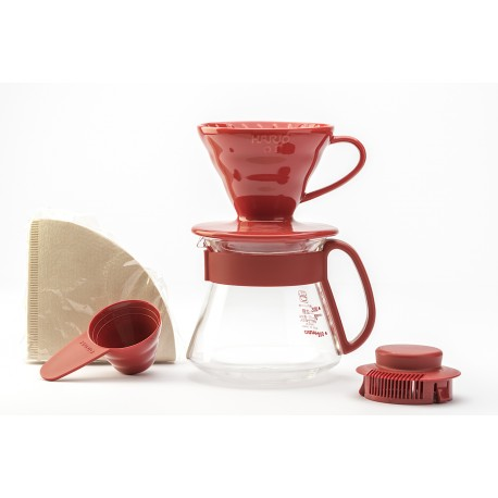 HARIO VDS-3012RCOLOR DRIP TEA POT RE